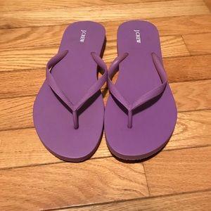 NEW JCREW Flip-flops
